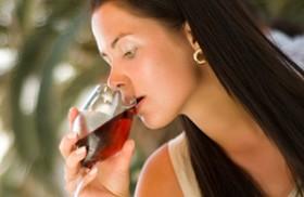 fles wijn per dag