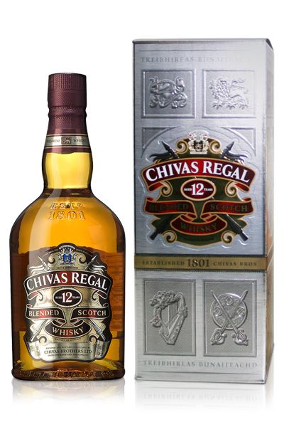Whisky kado: Chivas Regal 12 jaar oud 70 cl