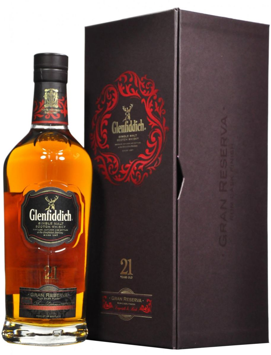 Whiskey kado: Glenfiddich 21 jaar oud 70 cl