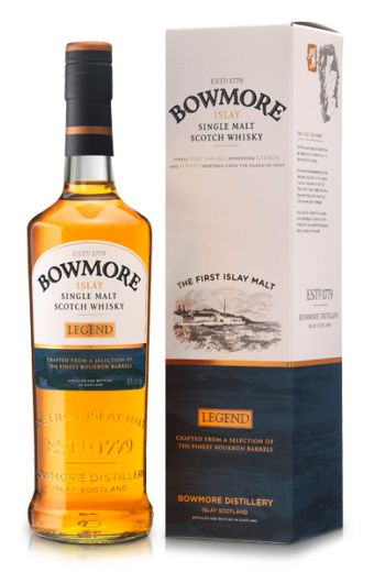 Whisky kado: Bowmore Legend Islay 70 cl